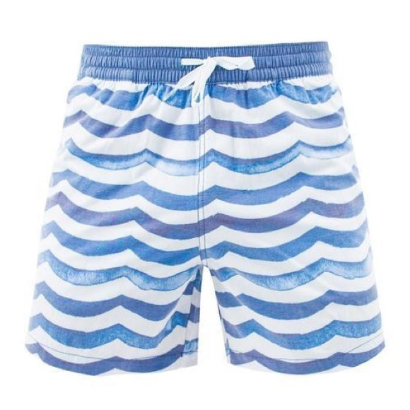 21d91ac895 Chubbies Swim | Davy Jones Blue Wave Shorts | Poshmark